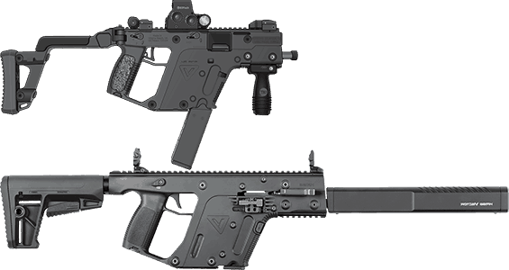 KRISS Vector Pistol and Rifle